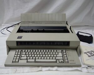 Ibm Wheelwriter 6 Typewriter W Additional Accessories And Manual