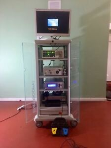 Stryker Arthroscopy System With Hd Monitor X7000 Crossfire Footswitch