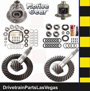 Motive Dana 35 30 Gear Set Pkg Master Kit 4 56 Ratio Trac Lock Posi Front Case