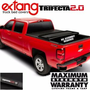 Extang Trifecta 2 0 Tri Fold Vinyl Tonneau Cover For 2011 2019 Ram 1500 6 4 Bed