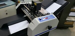 Graphic Whizard Gw 6000 Automatic Numbering Score And Perfing Machine