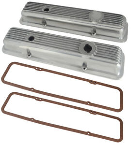 Chevy Sbv8 Lt1 Type Aluminum Valve Covers Polished