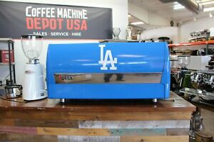 Wega Polaris Los Angeles Dodgers Tribute 3 Group Commercial Espresso Machine