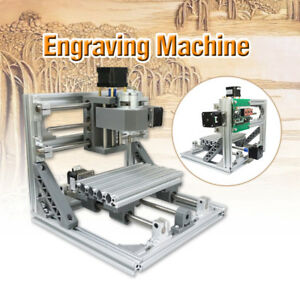 Professional Mini Cnc Engraving Machine Pcb Milling Wood Router Diy 500mw Laser