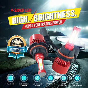 9007 Hb5 Led Headlight Conversion Kit 2300w 345000lm High Low Beam Bulbs 6000k