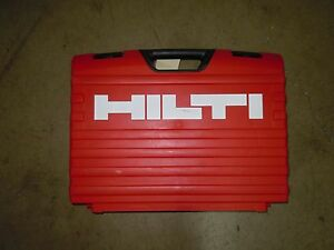 Hilti Te 700 avr Demolition Hammer Carrying Case