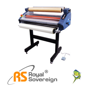 32 Roll Laminator Cold Psa Rsc 820cls Royal Sovereign New 3yr Warranty Onsite