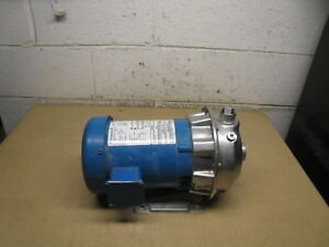 G l Npe 1st1 E5e2 Close Coupled Pump 1x1 25 6 4 437 Impeller 1hp 3600rpm