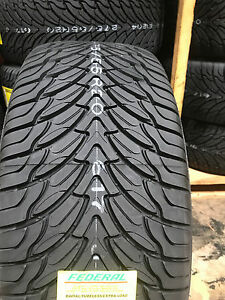 4 New 275 55r20 Federal Couragia Su Tires 275 55 20 R20 2755520 275 55 20 Suv