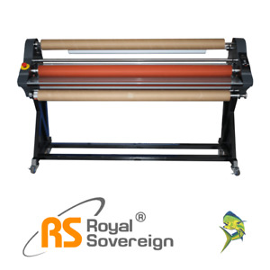 65 Roll Laminator Cold Psa Rsc 1651ls Royal Sovereign New 3yr Warranty Onsite