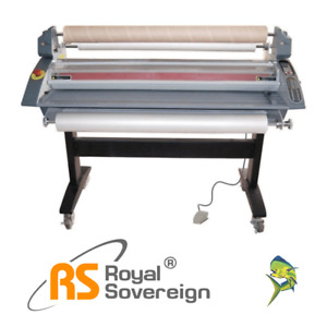 45 Hot Cold Roll Laminator Rsh 1151 Royal Sovereign New 3yr Warranty Onsite