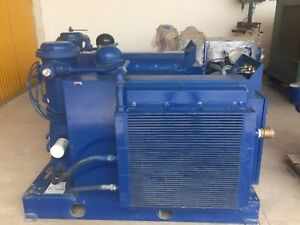 Quincy Qsb40 Rotary Screw Air Compressor Belt drive A c 40hp 200 208v 3ph 48khrs