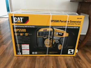 Brand New Cat Rp5500 5500 Watt Portable Generator