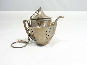 Vintage Sterling Silver Tea Strainer In The For A Tea Pot How Cute