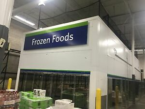 Walkin Walk In Cooler Freezer 16 1 2 Feet Tall X 20 X 50