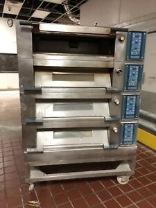 Polin Stratos 4 Deck Oven 197 2sta 4060 Adamatic