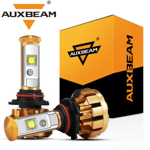 Auxbeam F 16 Series 9006 Hb4 Cree Led Headlight Lamp Bulb 60w 6000lm White 6000k