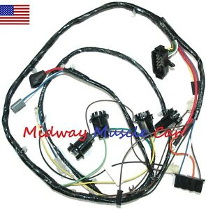 Engine Wiring Harness 66 67 68 69 Chevy Chevrolet Corvair