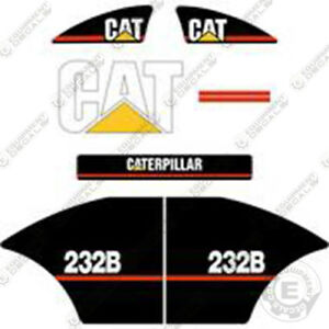 Caterpillar 232b Decal Kit Equipment Decals Older Style 232 b