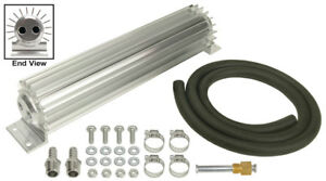 Derale 14 1 4 X 2 3 16 X 3 1 4 In Automatic Trans Fluid Cooler Kit P n 13263