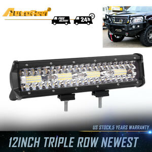 Five Rows Cree 10inch 1088w Led Light Bar Work Lamp Combo Spot Flood Offroad 4wd