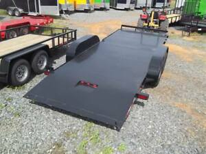 Hawke 20 F Equipment Electric Tilt Steel Carhualer Trailer 10k W Brakes New 7x2