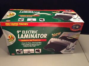 New Duck 9 Electric Laminator With Free Starter Pouches