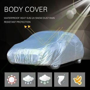 Large Universal Fit Outdoor Waterproof Heatproof Car Cover Up To 185 Length