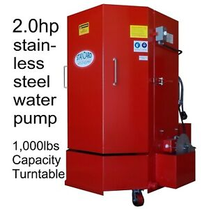 Stw 500 Spray Parts Wash Cabinet 5yrs Wty 1 000lb Cap 2hp Stainless Steel Pump