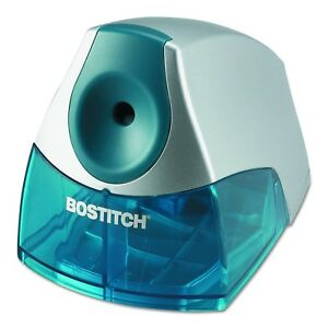 Pencil Sharpener Heavy Duty Desktop Electric Home Office Fast Safe Blue