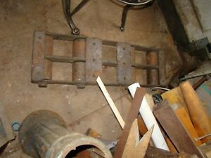 Steel Heavy Machinery Moving Trolley 30 8 Wheel Machinery Moving Dolly 100 Lbs