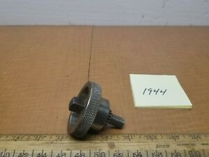 Hendey Lathe 12 Taper Attachment Adjustment Knob s8 9