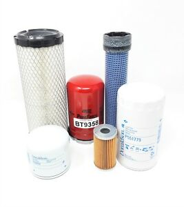 Kubota L3010 L3130 L3410 L3430 Hst Models Maintenance Filter Kit 06 Filters