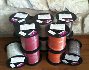 500 Ft Thhn thwn Wire 12 Awg Stranded 600 Volt Made In Usa Black And Red