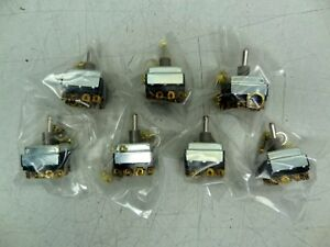 Lot Of 7 New Cutler Hammer 0303 Toggle Switch 2 Position Type 3 4 Hp 250 Vac