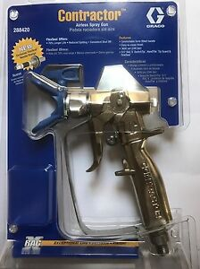 New Genuine Graco Contractor Gun current Model 288420 W 517 Tip No Packaging
