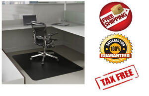 Office Chair Mat Floor For Rolling Carpet Computer Carpeted Under Desk With Arms