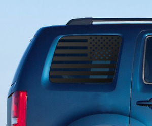 Usa Flag Decals Fits Honda Pilot Side Window Fits 2009 2015 American Flag Hp2