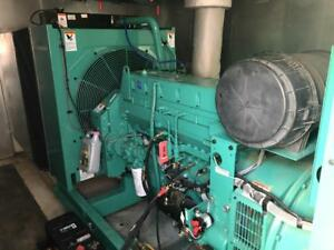 _230 Kw Cummins Onan Generator 12 Lead Reconnectable 1 3 Phase 442 Hours