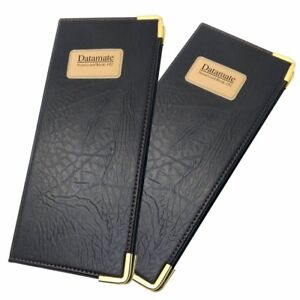 Business Card Organizer Card Holder For 192 Cards 2 Pack wallet Style