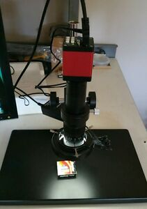 Digital Video Microscope Camera Hdmi vga Output With Stand New