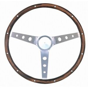 Grant Classic Nostalgia Steering Wheel 15 In Hardwood Walnut Finish 966 0