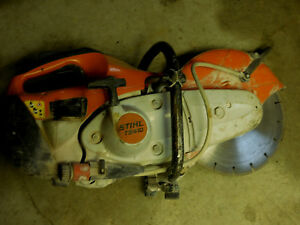Stihl Ts410 Concrete Cut off Saw Runs Great Ts800 Ts700 Ts400 Ts420