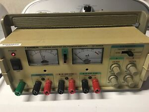 Tenma 72 4045a Triple Output Dc Power Supply 0 24 Vdc 0 5 A 5 Vdc 2 A