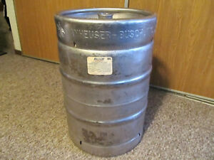 Anheuser Busch Empty 15 5 Gallon Stainless Steel Beer Keg Pick Up Only