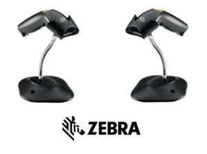 Zebra Ls1203 Usb 7 Foot Straight Cable With Stand Black