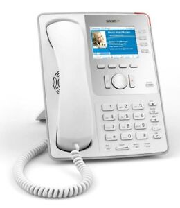 Snom 821 Sip Voip White 12 Line Color Display Gigabit Phone Used Lot Of 70