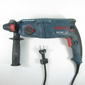 Bosch Demolition Hammer Drill Gbh 2400 230v 3 3a heavy Duty With Bits cll