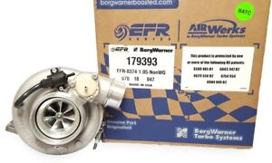 Borg Warner Efr Turbo 8374 T4 Divided 1 05 A R Twin Scroll 800 Hp P N 179393