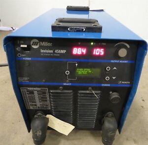 Miller Invision 456mp Pulsed Mig Tig Stick Inverter Multi Process Welder